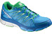 Salomon M's X-Scream Foil Shoes Process Blue/Union Blue/Real Green